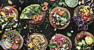 Roz Purcell's mini oat pizzas