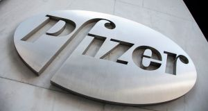 Pfizer and Japan's Astellas Pharma said on Thursday their prostate cancer drug met the main goal of a trial testing it for a more common form of the disease. Photograph: Andrew Kelly/Reuters