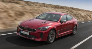 Kia Stinger: the company hopes its new model will lure some buyers away from the Audi A5