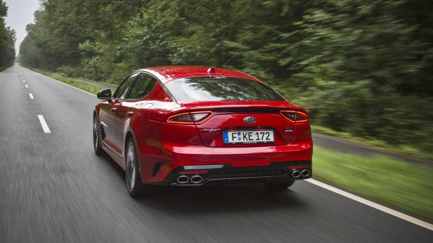 Alfa traits: the Kia Stinger looks strikingly similar to the stylish cars that used to emerge from northern Italy