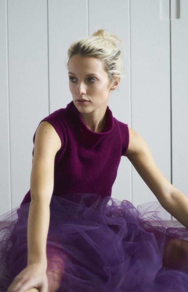 Laura Chambers is combining tulle and cashmere in her second season. We can't wait