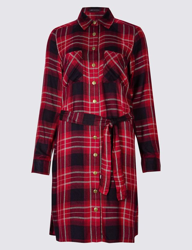 Shirt dress €54, Marks and Spencer