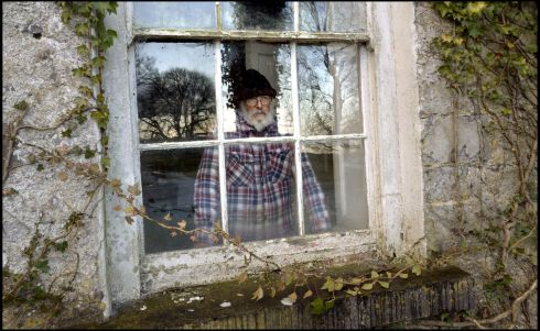 REMEMBERING DONLEAVY: File image from March 2014 of writer JP Donleavy at his home in Levington Park, Mullingar, Co Westmeath. Photograph: Brenda Fitzsimons/The Irish Times