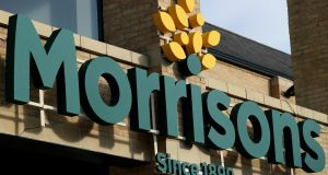 Supermarket group Morrisons reported a pretax profits £200 million (€225 million) for the six months to July 30th.Photograph: Chris Radburn/PA Wire