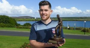 Galway United's Ronan Murray was voted Airtricity/Soccer Writers' Association of Ireland Player of the Month  for August.
