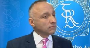 GRA spokesman John O'Keeffe during an RTÉ interview on Thursday night