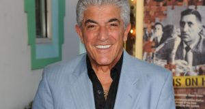 Frank Vincent: many of the characters he played met gruesome ends. Photograph: Larry Marano/WireImage