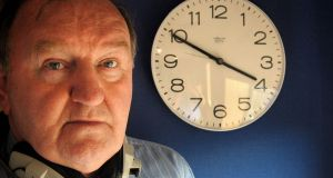 George Hook photographed in Newstalk's studios in 2003. Photograph: Marc O'Sullivan