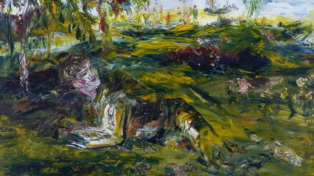 Jack B Yeats, In Tír na nóg, 1936, Private Collection