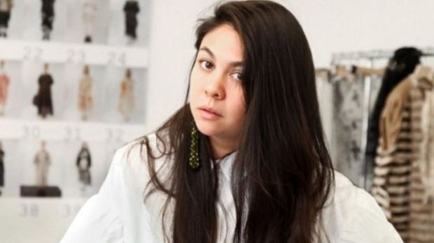 5eb9bef711b2b Simone Rocha in her studio in the east end of London. Her London Fashion  Week