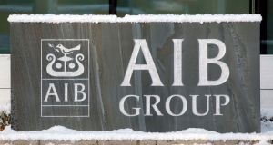 Financials fell in Europe on Friday with AIB said to be causing the downward trend in Ireland. Photograph: Cathal McNaughton/Reuters
