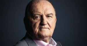 George Hook: Newstalk suspended the radio host after his comments about rape. Photograph: Newstalk