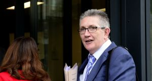 CPSU general secretary Eoin Ronayne said his members remain angry over imposition of unpaid additional hours which were not addressed in the new public service pay deal. Photograph: Cyril Byrne