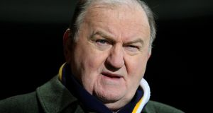 Newstalk tweeted just after 9am on Friday that George Hook had been suspended from all duties and that the process arising from his comments last week about rape and responsibility would continue. File photograph: Lorraine O'Sullivan/Inpho