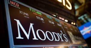 Ratings by companies such as Moody's are used by investors as a guide to a country's economic health and stability. File photograph: Getty Images