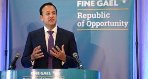 One hundred days into his term as Taoiseach, Leo Varadkar has yet to set out what he plans to do with his power. Photograph: Dara Mac Dónaill