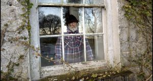JP Donleavy in March 2014 at his home, Levington Park in Co Westmeath. Photograph: Brenda Fitzsimons