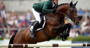 Cork native Shane Sweetnam led home an Irish one-two in New York. Photograph: Tommy Dickson/Inpho