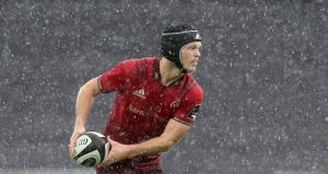 Munster's Tyler Bleyendaal at the  Liberty Stadium in Swansea. Photograph: Billy Stickland/Inpho