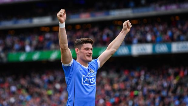 Diarmuid Connolly kicked a beauty of a score in the second half. Photograph: Sam Barnes/Sportsfile via Getty Images