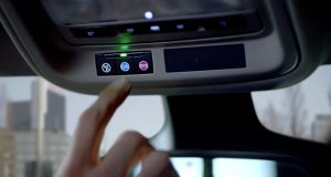Opel's OnStar system connects car occupants to a 24-hour call centre at the touch of a button.
