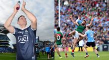 Dublin captain Stephen Cluxton, and man of the match James McCarthy. Photographs: Inpho