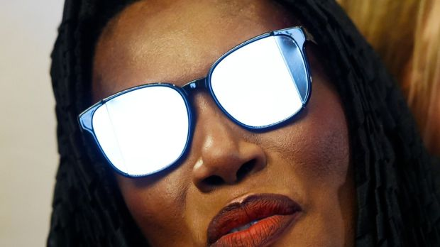 Singer Grace Jones, subject of the documentary 'Grace Jones: Bloodlight and Bami' at the premiere. Chris Pizzello/Invision/AP