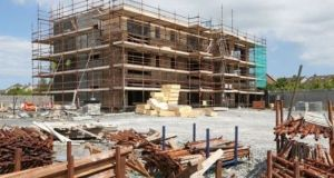 Despite the dearth of supply in new homes, the pipeline of new apartments  appears sluggish at best, according to new planning permission figures.