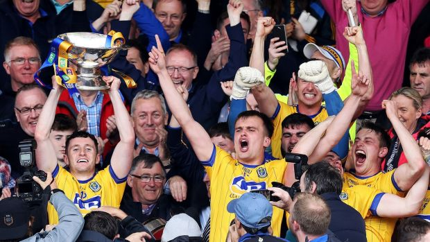 Roscommon beat Galway in Pearse Stadium to win a first Connacht title since 2010. Photograph: Tommy Dickson/Inpho