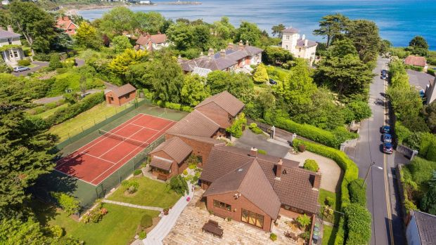 Tanglewood has sea views and six bedrooms