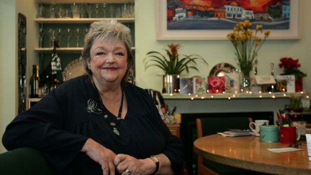 Maeve Binchy at home in Dalkey, Co Dublin, in 2010. Photograph: Eric Luke