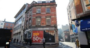 13 Trinity Street, Dublin: planned hotel will feature a restaurant and bar.