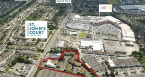 St John's Court: the 3.2-acre business park  is just  3.5km from Dublin Airport