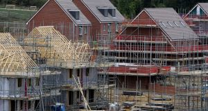 The RIAI called for the adoption of more streamlined system to regulate and process housing planning applications. Photograph: Gareth Fuller/PA Wire