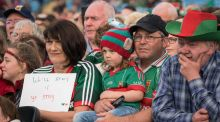 Mayo GAA Fans welcome the Mayo Senior Football team back to McHale Park in Castlebar, Co Mayo. Photo : Keith Heneghan / Phocus