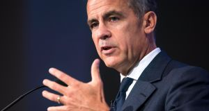 Bank of England governor Mark Carney said leaving the EU would at least temporarily reduce the openness of the UK economy. Photograph: Jim Lo Scalzo/EPA