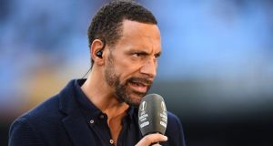 Rio Ferdinand is to try and fight one bout as a professional boxer. Photograph: David Ramos/Getty