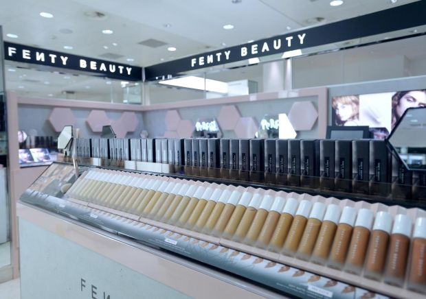 A selection of Fenty beauty products.