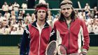 Actors Shia LaBeouf and Sverrir Gudnason play  John McEnroe and Björn Borg in 'Borg vs McEnroe'