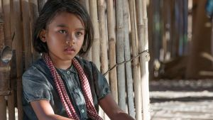 Sareum Srey Moch in First They Killed My Father: A Daughter of Cambodia Remembers