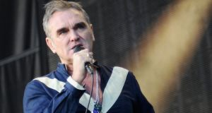 Morrissey: bed-bound. Photograph: Savenok/Getty Images for Firefly/AFP