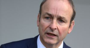 Fianna Fáil leader Micheál Martin: The Government needs  his party's  agreement to abstain if it is to pass budget measures in the Dáil in three weeks' time. Photograph: Brian Lawless/PA Wire