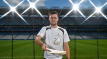 David Burke at the announcement of PwC's sponsorship of the GAA/GPA All-Stars scheme for four years.  Photograph: Brendan Moran/Sportsfile