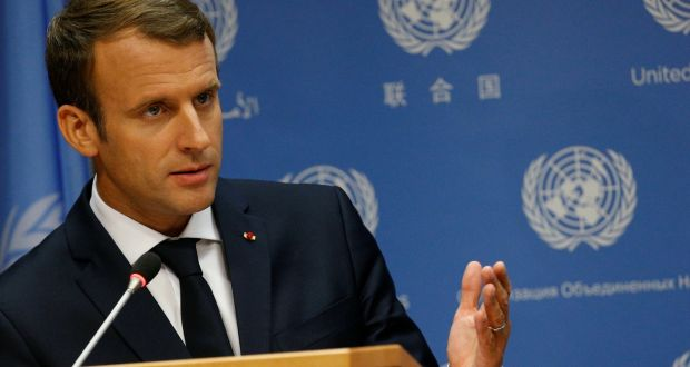 Macron Stakes Claim To Being The Anti Trump During Un Address