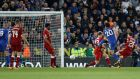 Leicester knock wasteful Liverpool out of League Cup