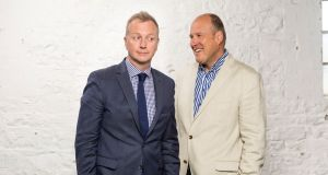 New co-hosts Matt Cooper and Ivan Yates