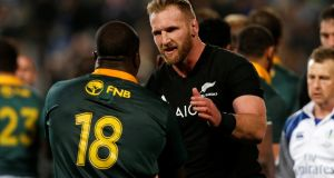 Kieran Read's All Blacks hammered South Africa 57-0. Photograph: Nigel Marple/Reuters