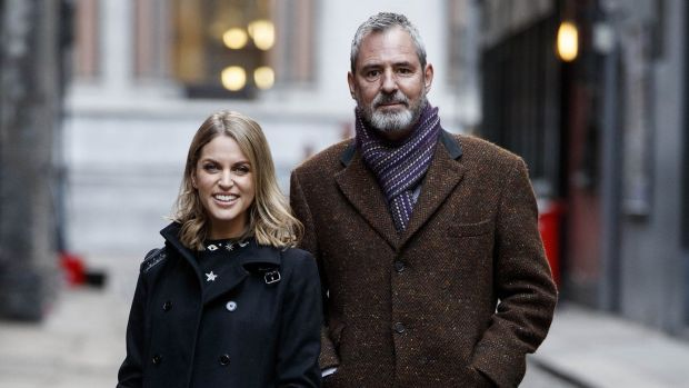 Amy Huberman, above with Neil Morrissey, will return in series two of Striking Out aka Herself