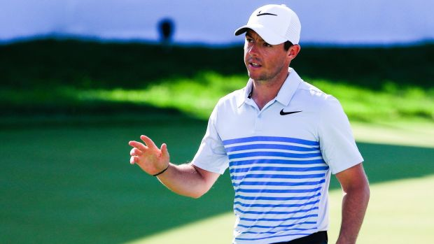 Rory McIlroy has endured a frustrating, injury-plagued 2017. Photograph: Tannen Maury/EPA