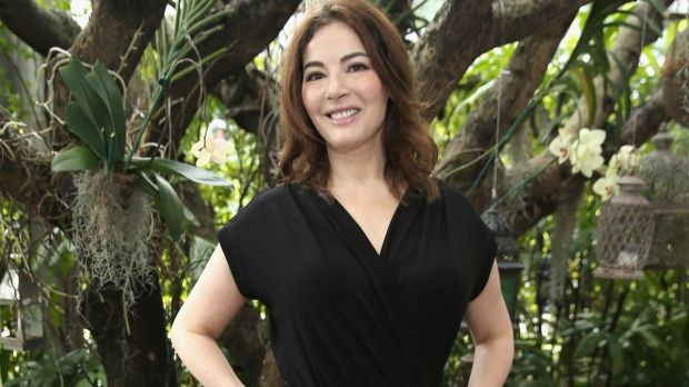 "Nigella Lawson: ""I find food very beautiful, too, and we all need beauty in our lives."" Photograph: Neilson Barnard/Getty Images"